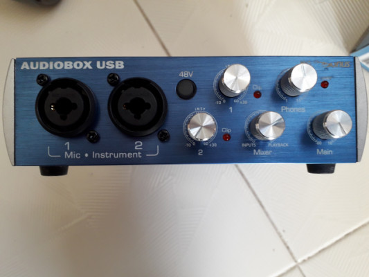 PRESONUS AUDIOBOX USB interface de grabación