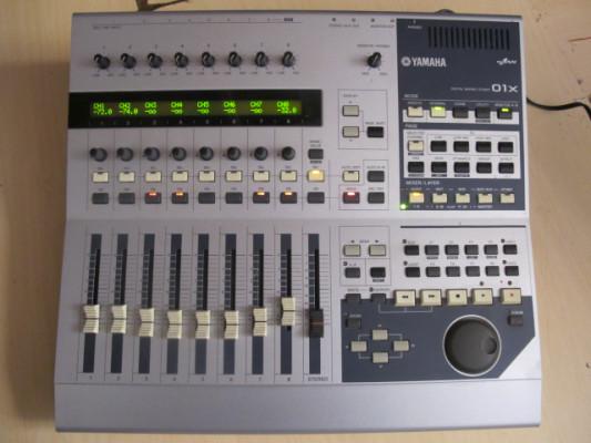 Yamaha 01x ..Controladora,tarjeta ,mesa de mezclas..