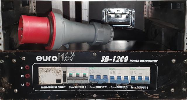 DISTRIBUIDOR CORRIENTE EUROLITE SB-1200