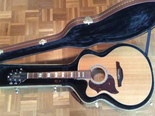 Guitarra electroacústica Takamine EG523SC, para ZURDOS