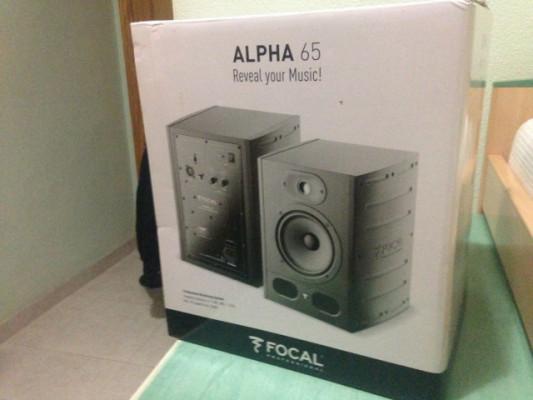 Pareja Monitores Focal Alpha 65