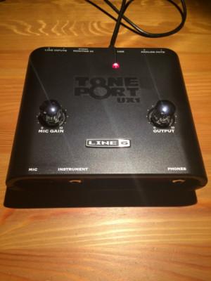 Line 6 Tone Port UX-1 + Triple Pack Bundle
