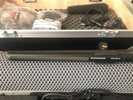 Microfono de cañon sennheiser mkh 416