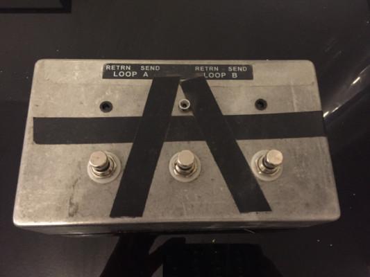 Pedal Conmutador 3 canales