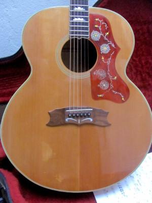 1980 Gibson J-200 original en maravilloso estado