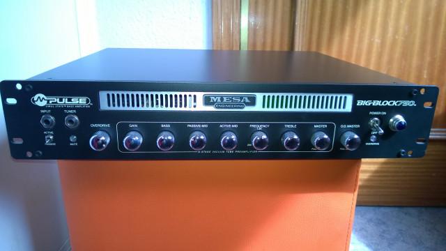 Amplificador  Mesa Boogie Bass Big Block 750 Made in Usa