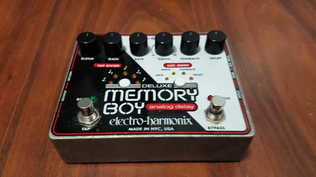 Pedal Delay Electro Harmonix Deluxe Memory Boy