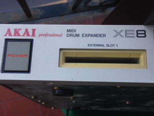AKAI XE8 Midi Drum Expander