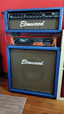 Elmwood Boneville 50 Blue Tolex LIMITED EDITION (cabezal y pantalla)