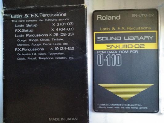 Tarjetas de sonido ROLAND SN-U110