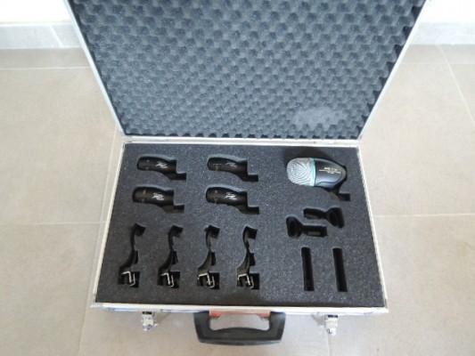 set de micros de batería