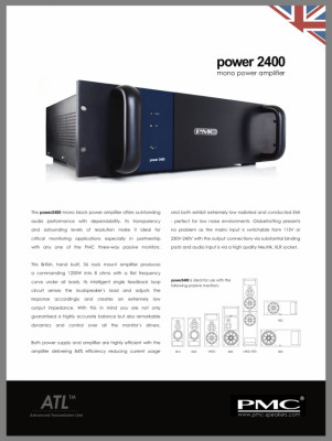 PMC Power 2400 Amplifier (50% Dto.)