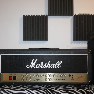 Cabezal marshall jcm 2000 tsl 60  y pantalla engl 4x12