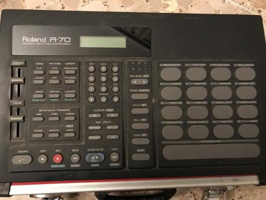 Caja de ritmos roland r80