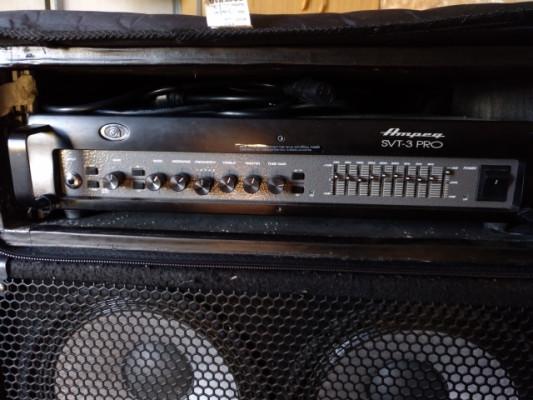 Ampeg SVT 3-Pro + Harley Benton BB410T