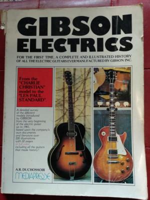 Libro GIBSON ELECTRICS Vol. 1 (En Ingles)