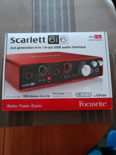 Scarlett 6i6 2nd generación