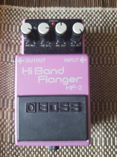 Flanger boss HF2 High Band