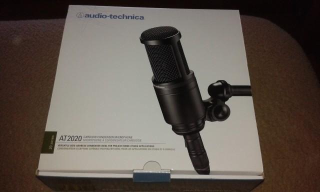 Vendo 2 microfonos at 2020 casi nuevos