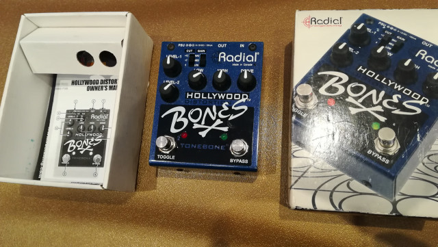 Radial Tone Bone Hollywood dual distortion. Envío incluido