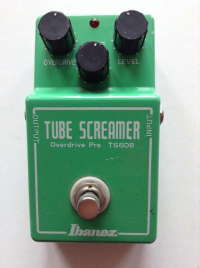 RESERVADO - Pedal Ibanez TS-808 Tube Screamer Japan con mods.