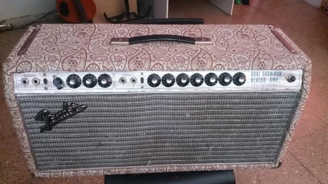 Fender dual showman 69 ó cambio
