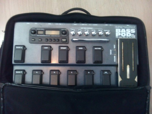 Bass POD XT Live