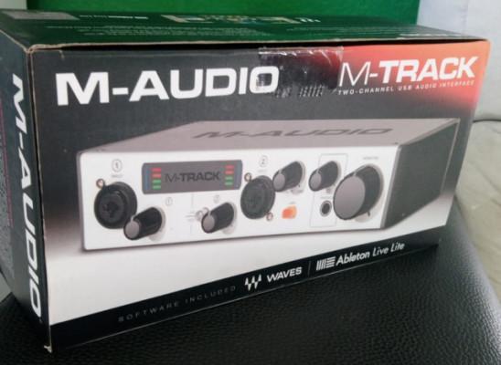M-Audio M-Track II (No respondo a cambios)