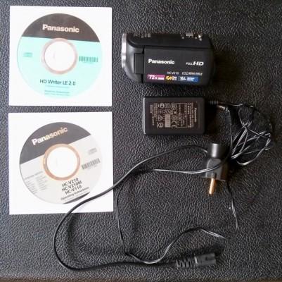 & Cambio Videocamara Digital Panasonic Hc-v210