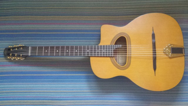 Guitarra manouche gypsy cigano gj 15