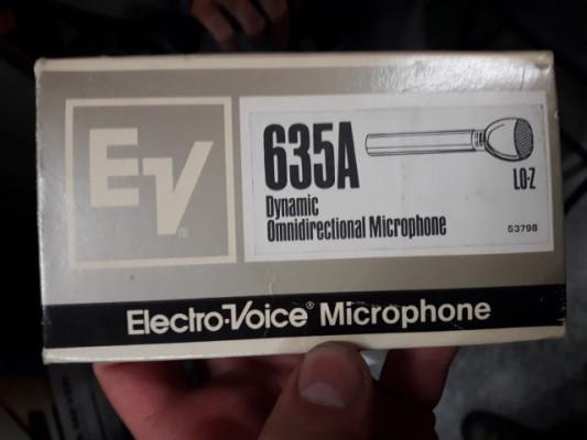 ELECTRO-VOICE 635A, PL5, PL11 y RE20