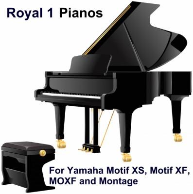 ROYAL 1 PIANOS para Yamaha Motif XS, Motif XF, Moxf y Montage