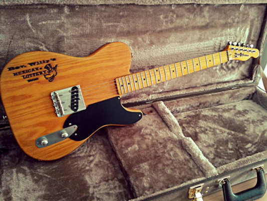 Telecaster Esquire Mojo Guitars Tribute Gibbons III (componentes Fender)