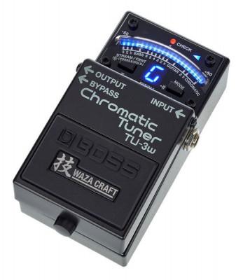 Compro Boss TU-3w Waza Craft chromatic tuner.