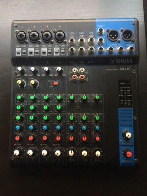 Yamaha MG 10 mesa de mezclas de directo