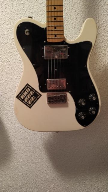 Fender Telecaster Deluxe 72 FSR Olympic White