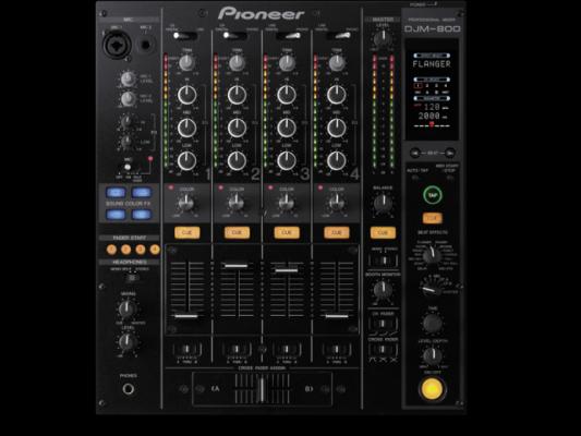 Mesa de mezclas PIONEER DJM-800