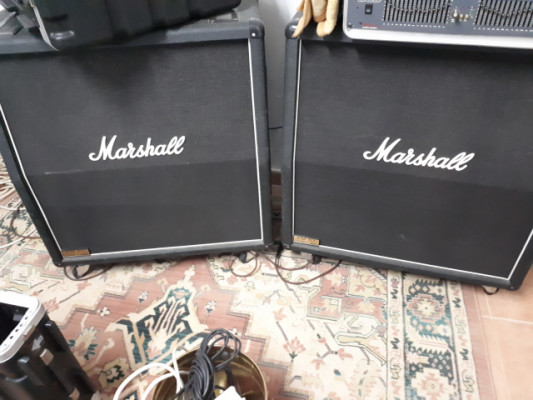 2 x Marshall pantallas JCM 900 1960