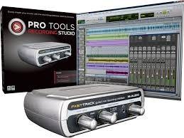 Tarjeta de audio m audio fast track