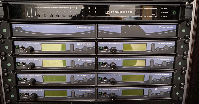 Vendo 8 sistemas inalámbricos de petaca Sennheiser
