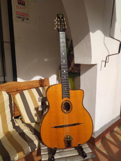 Guitarra Jazz Manouche  - Gitane DG-300 John Jorgenson