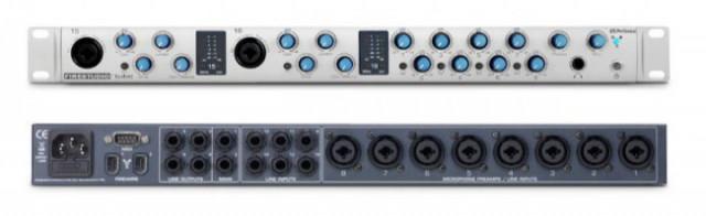 interface audio Presonus Firestudio tube