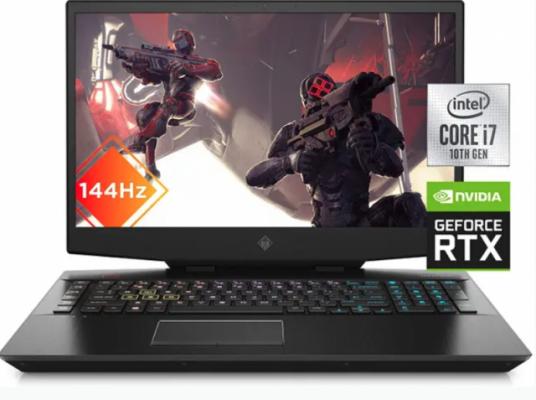 "Portátil Gaming HP Omen 17,3"" RTX 2070 como nuevo"