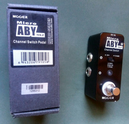 Pedal Mooer micro ABY MK II