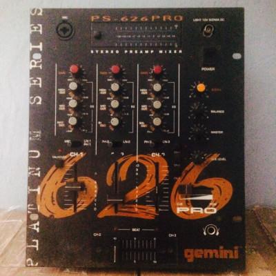 Mesa de mezclas Gemini PS-626PRO