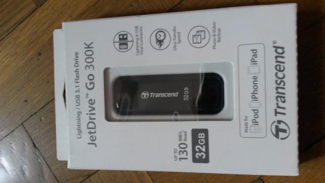 : Memoria Transcend Jetdrive Go 300K 32 GB PC / APPLE