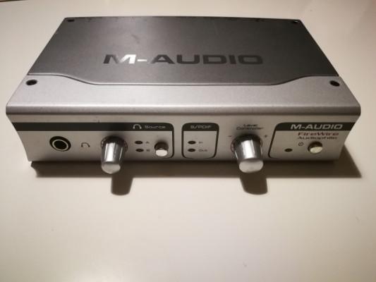 Tarjeta de Sonido M-Audio Audiophile Firewire.