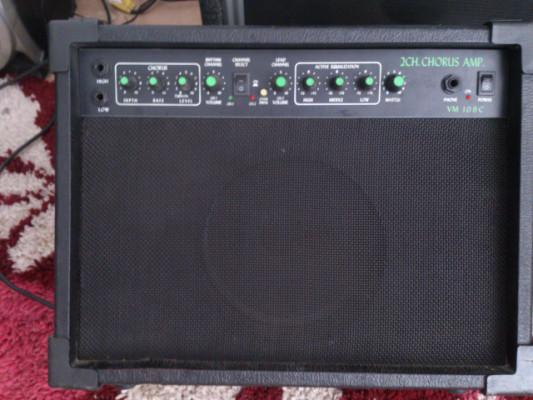amplificador Axtech Vm 10 8c