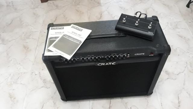 Amplificador Crate gtx 212 120w 2x12