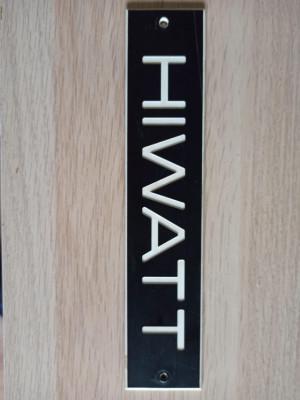 Vendo logo Hiwatt